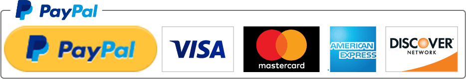 Paypal Acceptance Amex Visa Mastercard Discover